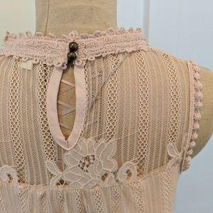 Pink lace love shirt